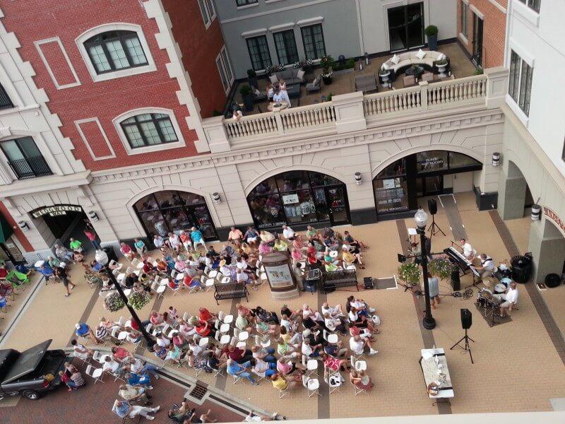 Carmel City Center Sidewalk Concert