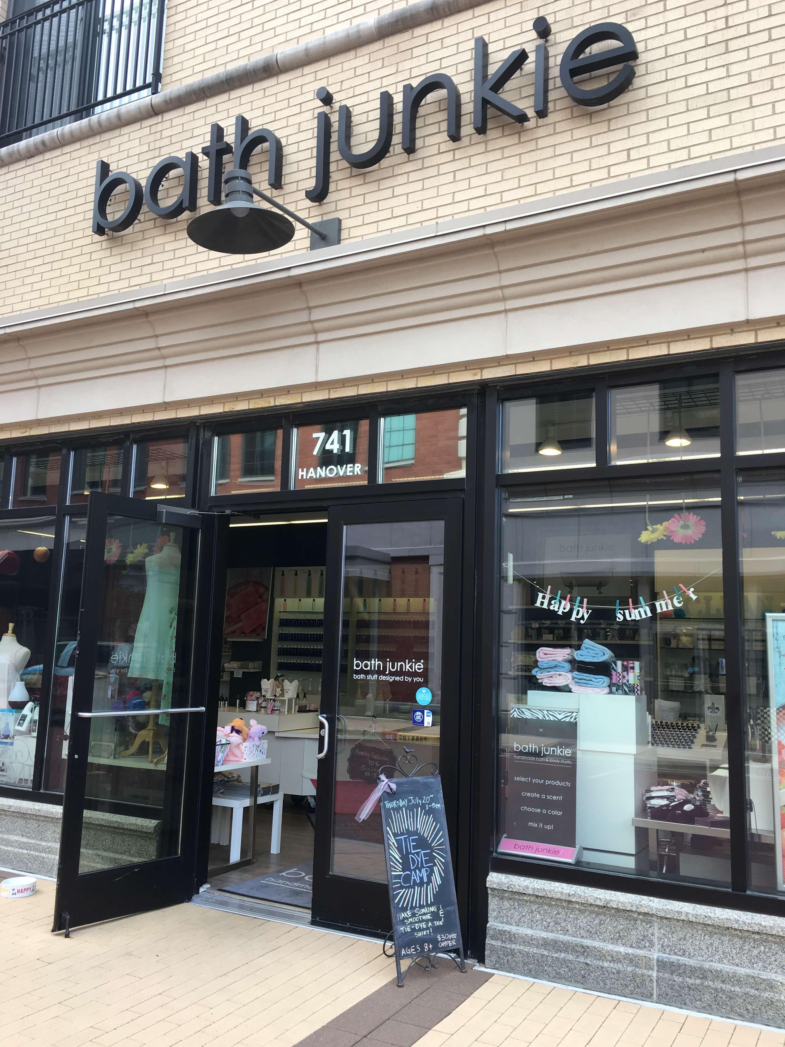 Bath Junkie storefront