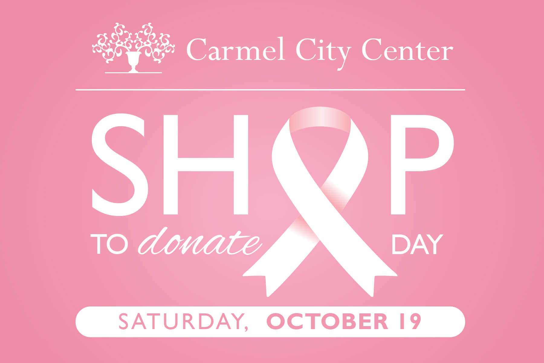 Shop to Donate Day at Carmel City Center