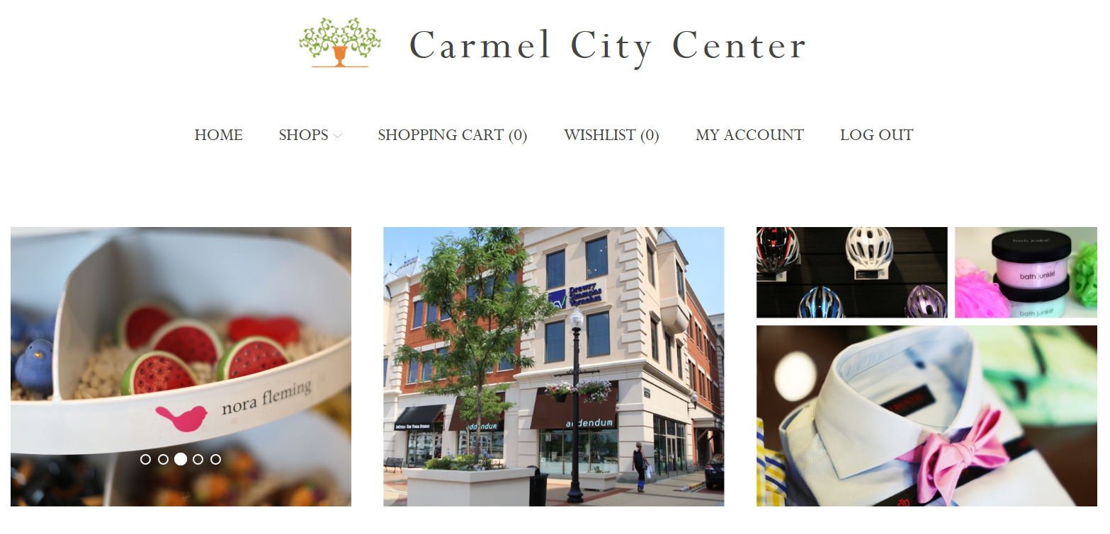 Shop Carmel City Center